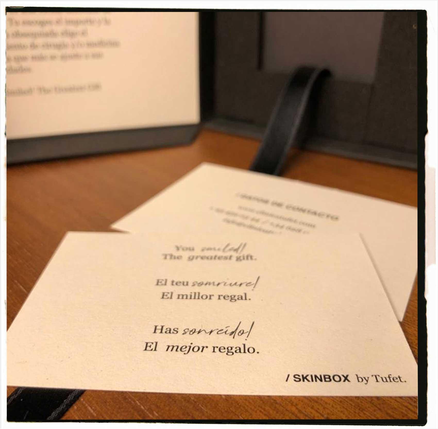 regala skinbox tarjeta regalo tratamientos de belleza